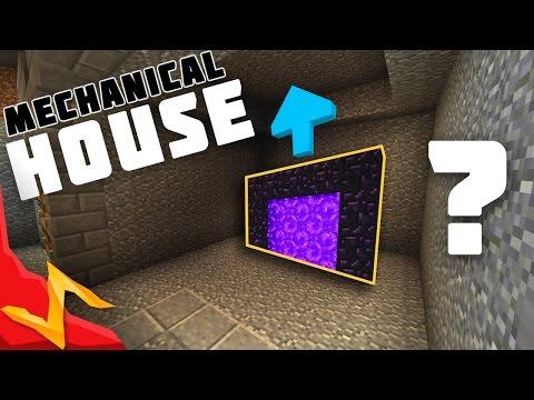 Minecraft - Mechanical Redstone/Piston House Tutorial
