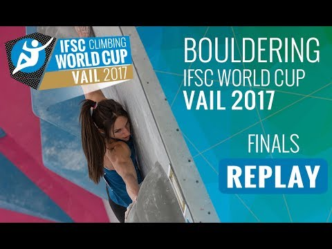 IFSC Climbing World Cup Vail 2017 - Bouldering - Finals - Men/Women