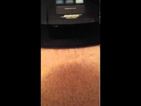 Bose Wave Radio Alarm Clock -- Model AWR1G1 -- Great Sound!
