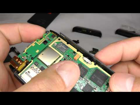 Nokia N8 Disassembly & Assembly - Case Replacement