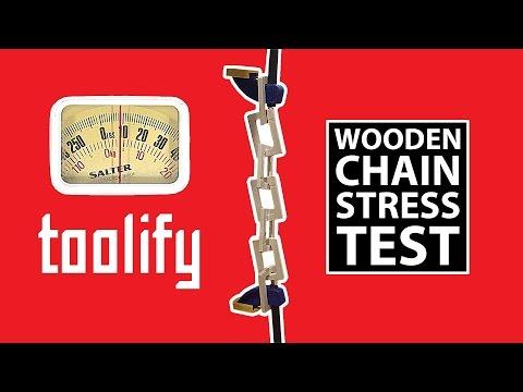 Wooden Chain Stress Test