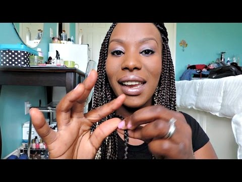How to: Seal The Ends Of Your Box Braids | BeautyByChick