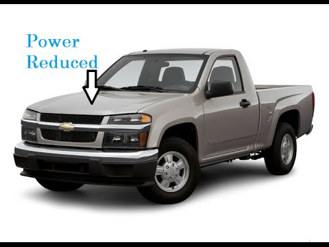 What to do about power reduced associated with the throttle body on Chevy Colorado