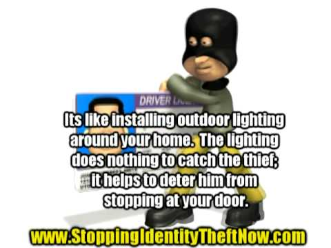 Stopping identity theft! Beat the Criminals...