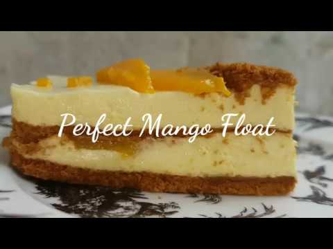 Perfect Mango Float | Mango Refrigerator cake | Icebox cake | No melt Mango Float