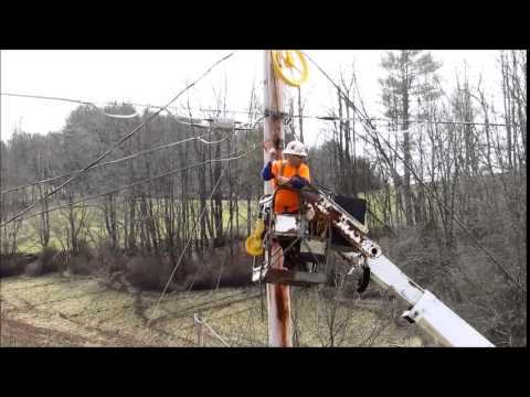 Jameson Aerial Buddy Installing ADSS Fiber Optic Cable