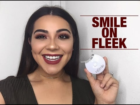 How To: GOT RID OF COFFEE STAINS | HiSmile 6 Day Teeth Whitening Kit