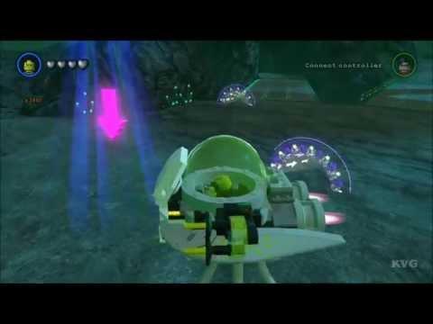 LEGO Batman 3: Beyond Gotham - Brainiac Skull Ship Free Roam Gameplay [HD]