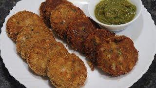 Nawabi Crispy Fish Kabab Recipe   Delicious Fish Recipe