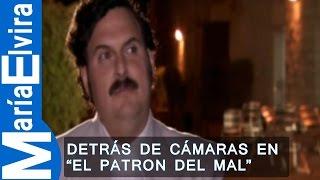 """Detrás de cámaras  en """"El Patrón del mal"""" - Escobar: Plata o plomo"""