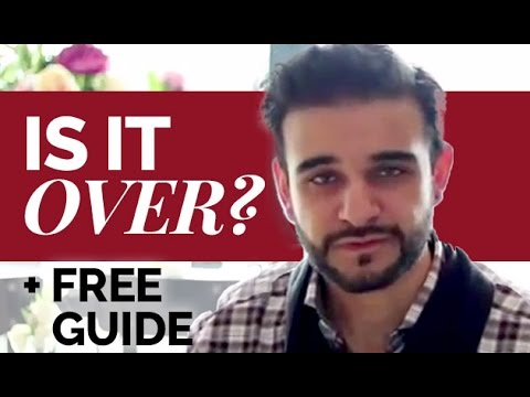 😰 Is My Relationship Over + How to Move Past it + FREE GUIDE 😄 Harvey Hooke | Get Him Hooked