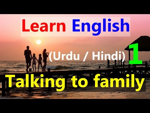 Learn English through Urdu | Talking to kids | Speak English With Kids Confidently Kids and Parents