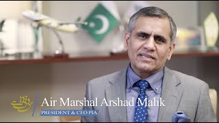 Journey of PIA with President & CEO PIA Air Marshal Arshad Malik