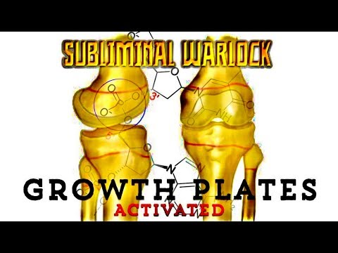 ACTIVATE YOUR GROWTH PLATES IN 1 WEEK! ANY AGE! EXTREMELY POTENT! SUBLIMINAL WARLOCK!