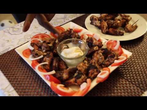 HOW TO COOK JAMAICAN JERK CHICKEN WINGS