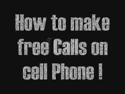 Hack a cell phone - make free calls