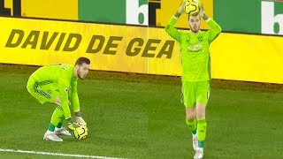 When Goalkeepers Get Bored in Football