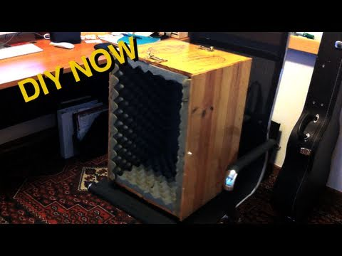 How to Build a Microphone Isolation Box - DIY Now