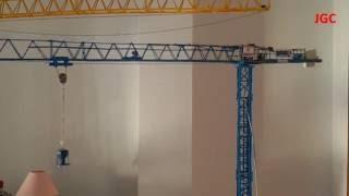 Montaje Maqueta De Grúa Torre Comansa 5lc4010