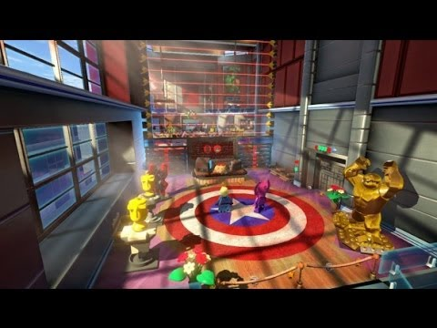 LEGO Marvel Super Heroes - Nuff Said - 100% Guide (Gold Brick Detector,  Ms. Marvel)