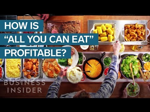 How All You Can Eat Restaurants Make Money