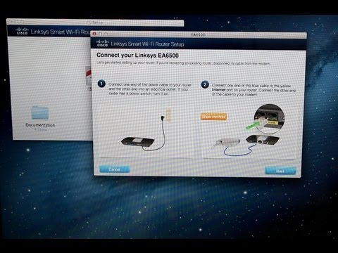 Linksys AE6500 Step by step Configuration and Linksys Smart Wi-fi
