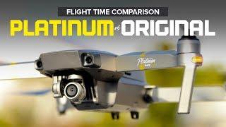 DJI Mavic Pro Platinum versus Original MP - Flight Time Comparison