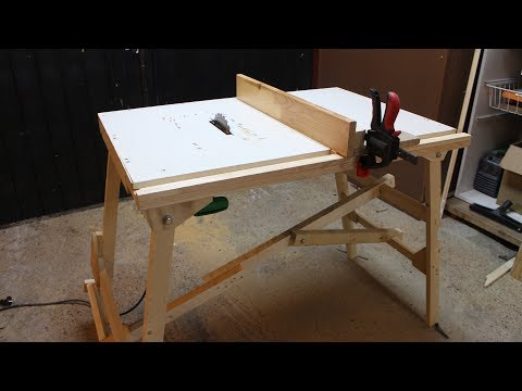 Foldable Table Saw Prototype