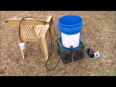 DIY Solar Shower For Emergencies, OffGrid, Camping-HIGH PRESSURE!!