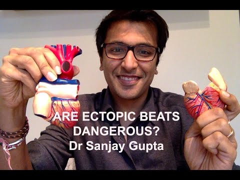 Are ectopic heart beats dangerous?