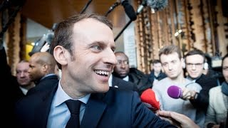 Emmanuel Macron Declared Next French President In Early Vote Counts