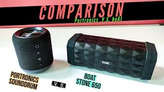 Boat Stone 650 Unboxing & Review || Bass & Sound Test - TECH With