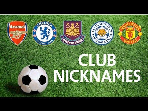 Barclays Premier League Season 2015-2016: What You Need To Know #1 - Club Nicknames