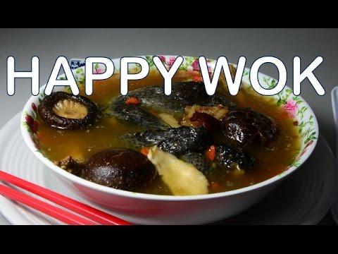 黑雞湯Black Chicken Soup with Chinese Herbal Mix  : Authentic Chinese Cooking