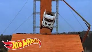 Team Hot Wheels - Yellow Driver's Near-Crash During Testing   Hot Wheels