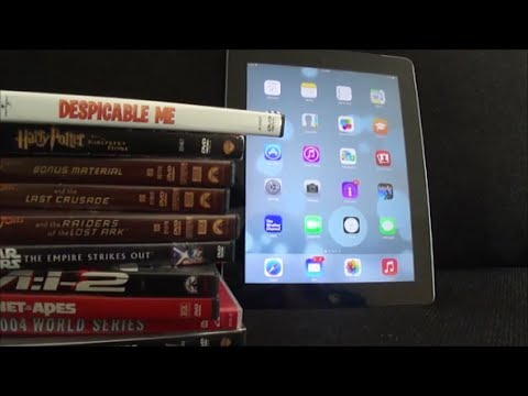 How to Get DVDs on your iPad