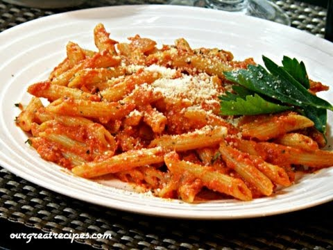 Penne Pasta with Vodka Sauce