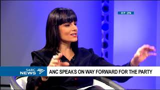 ANC speaks on way forward for the party Part 1