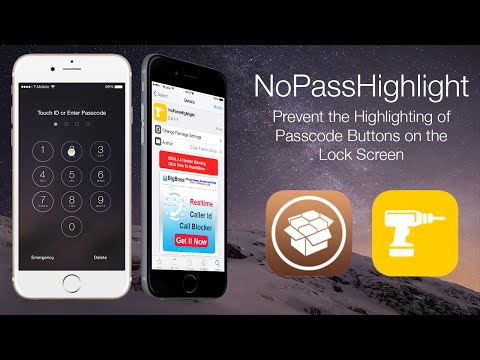 NoPassHighlight: Prevent the Highlighting of Passcode Buttons on the Lock Screen