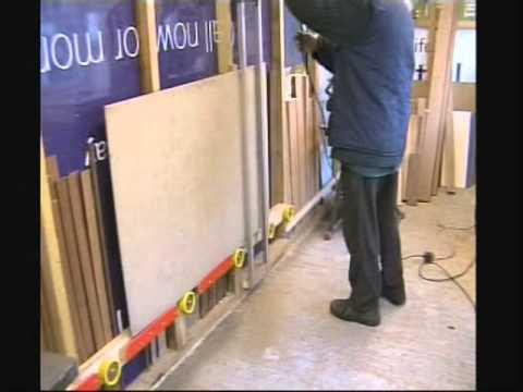 homemade wall saw.wmv