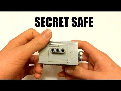 SUPER SEECRET LEGO MINI SAFE | TUTORIAL