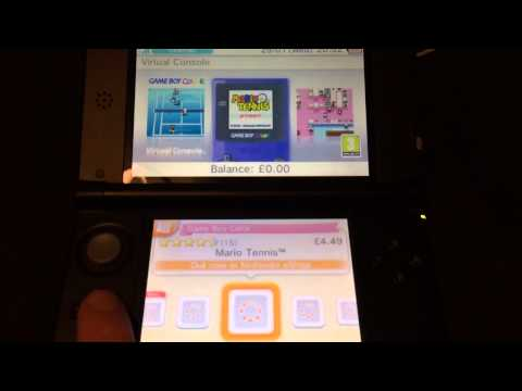 How to Download Virtual Console via eshop on 3DS/XL