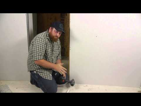 How to Cut Drywall for Plumbing : Wall Repair