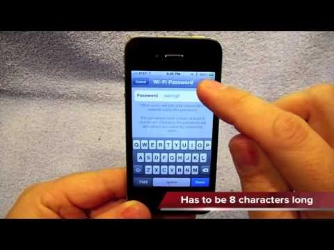 iPhone Personal Hotspot