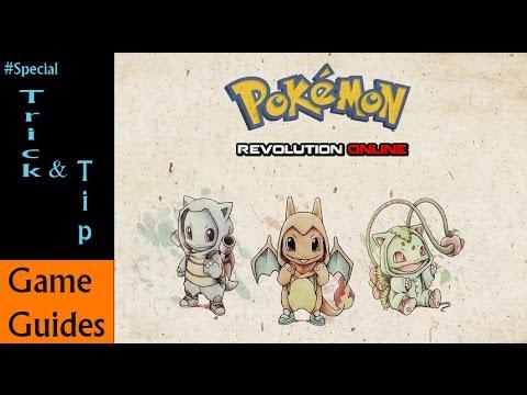 Pokemon Revolution Online #Trick&Tip [Hidden Ability Frisk]