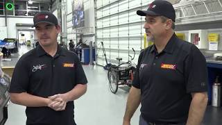 Courtney Force gets Co-Crew Chief Brian Corradi
