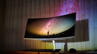 Samsung monitor curved CF791 - Brief Introduction