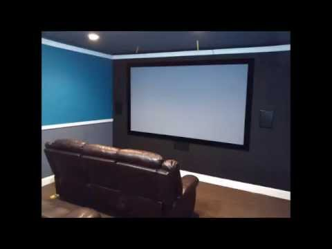 DIY Garage Home Theater Conversion On A Budget