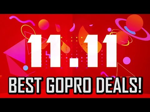 Best GoPro Deals For 11.11 (Singles' Day)!