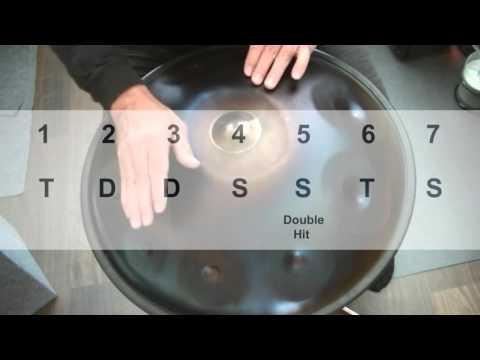 Hang/Handpan Tutorial for Beginners - Lesson 8 - Groove
